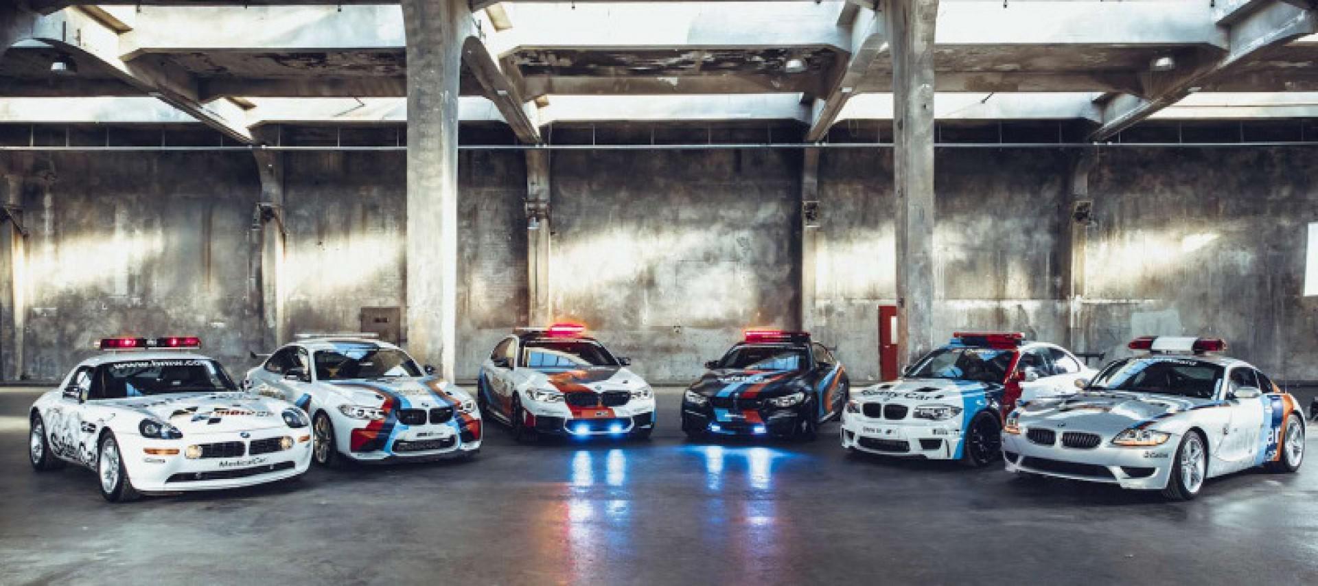 BMW M: fête 20 ans de Safety Car en championnat Moto GP !