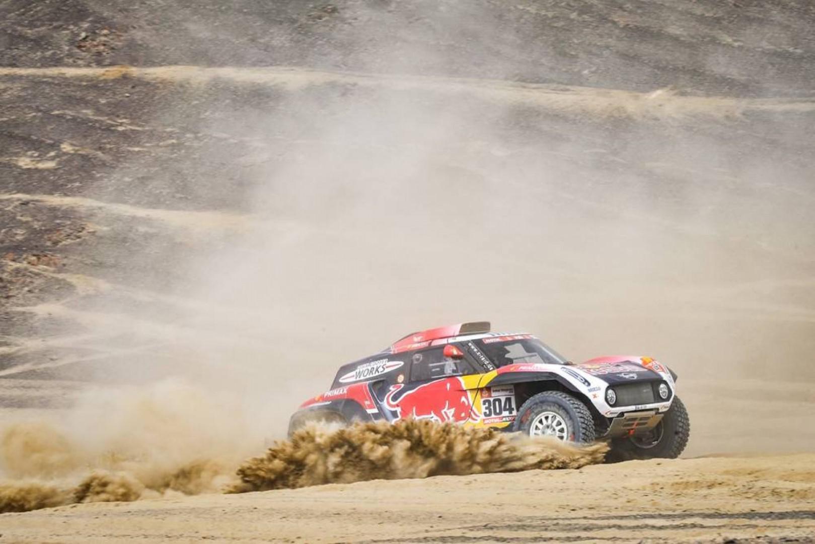 Dakar 2019: Peterhansel domine la troisième journée