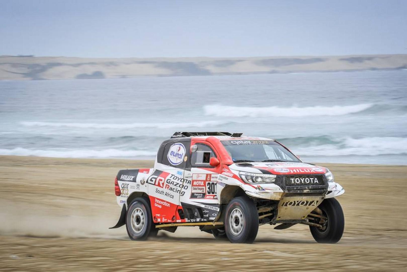 Dakar 2019 : Loeb vainqueur du jour, Al Attiyah solide leader
