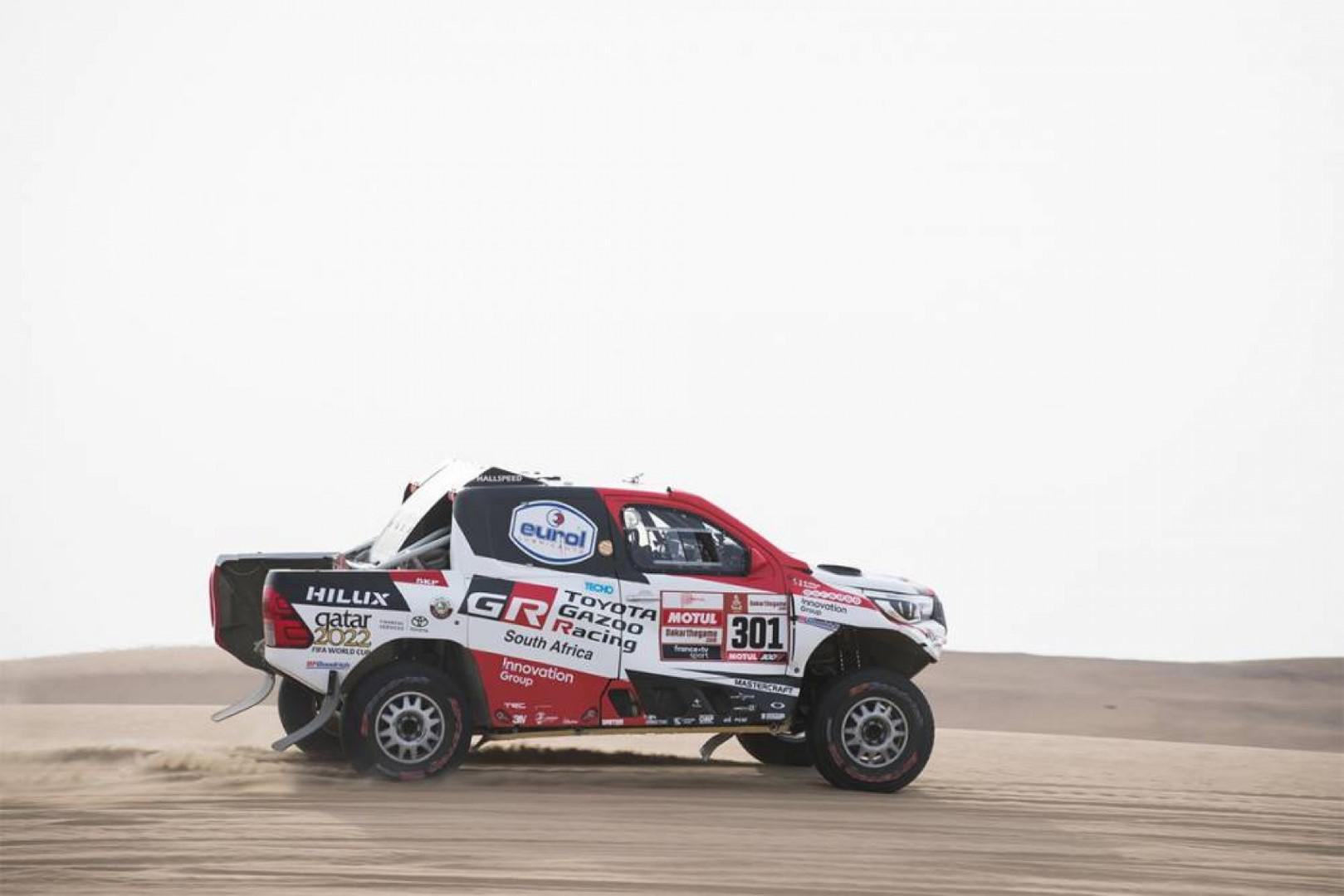 Dakar 2019: Al Attiyah et Price en tête à un jour de Lima.