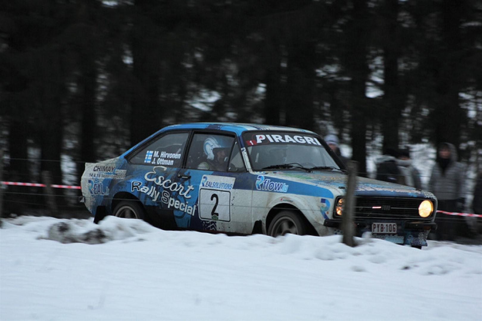 Legend Boucle de Bastogne : Mikko Hirvonen vainqueur