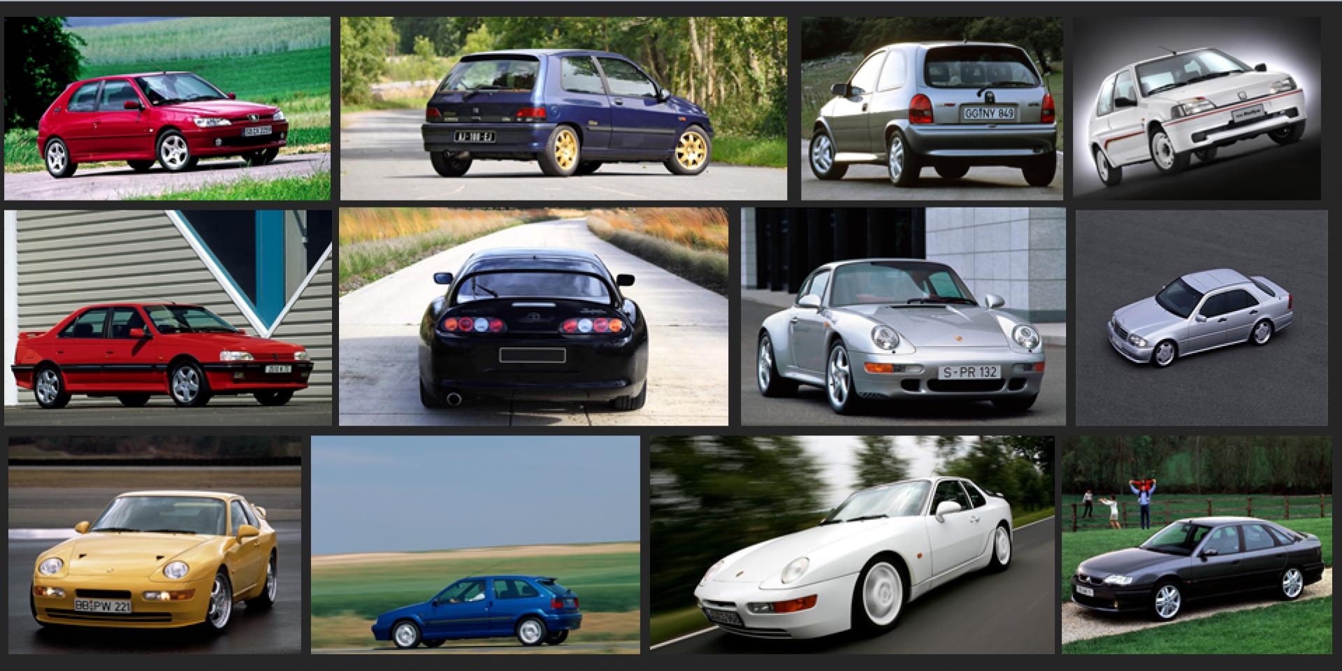 Ces voitures de sport qui ont aujourd'hui 25 ans !