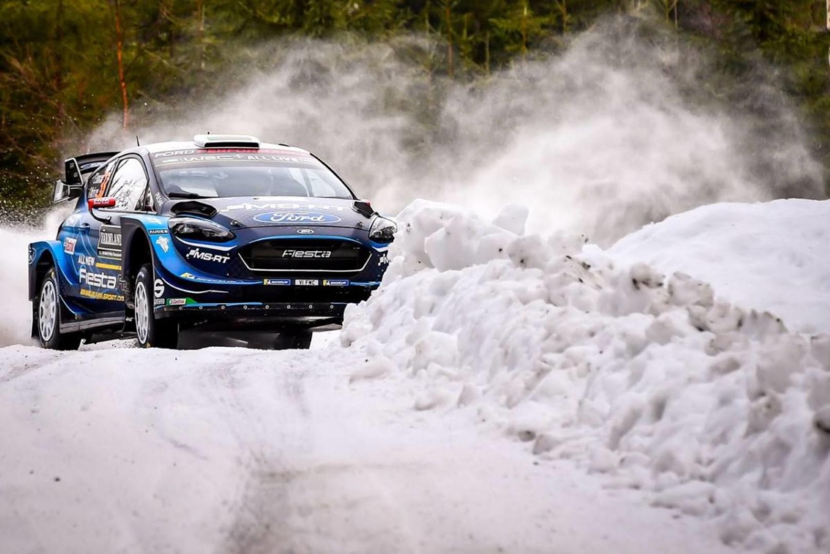 Rallye de suède 2019 : Teemu Suninen prend les commandes du rallye.