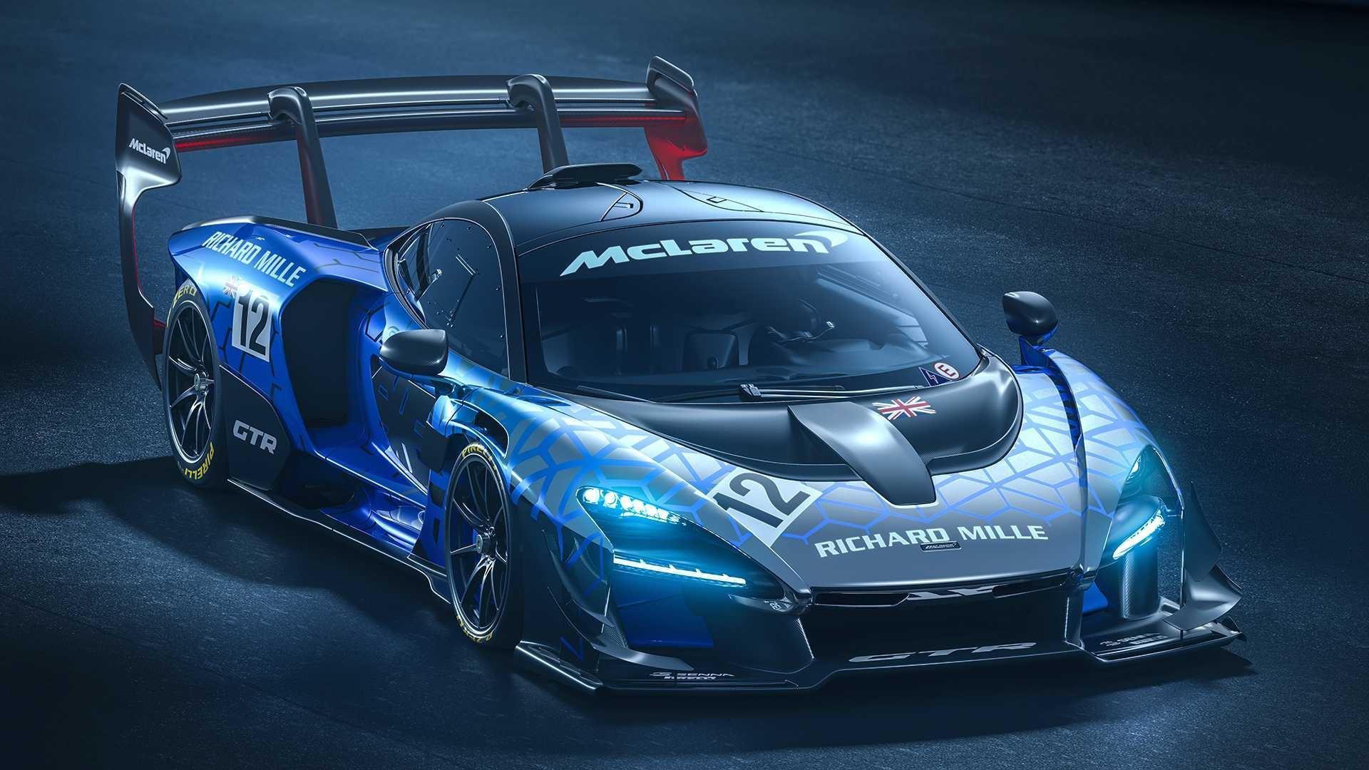 Mclaren Senna GTR: Expression ultime de la performance et de l'excitation de la conduite sur piste.