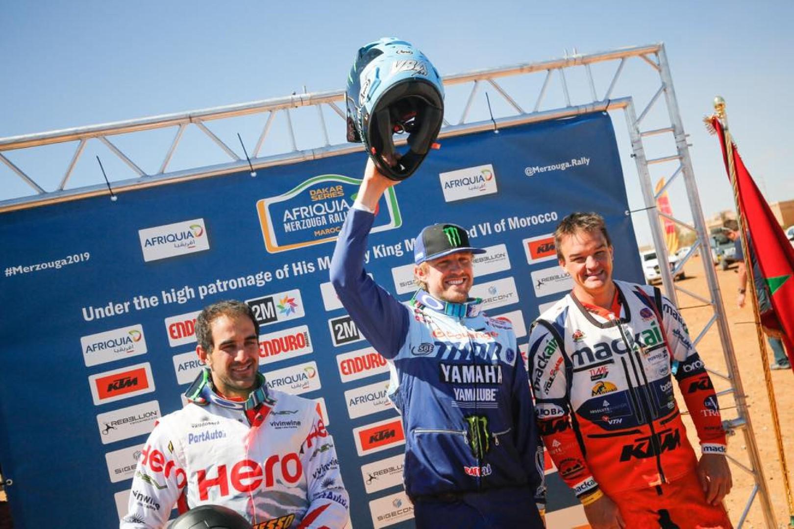 Afriquia Merzouga Rally 2019 : Van Beveren, Al Attiyah et Dutrie triomphent à Merzouga