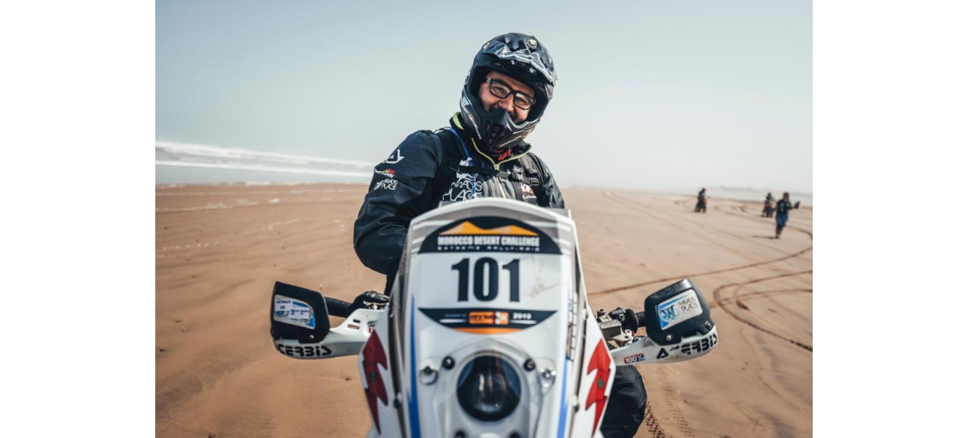 Harite Gabari signe un nouvel exploit au Morocco Desert Challenge 2019