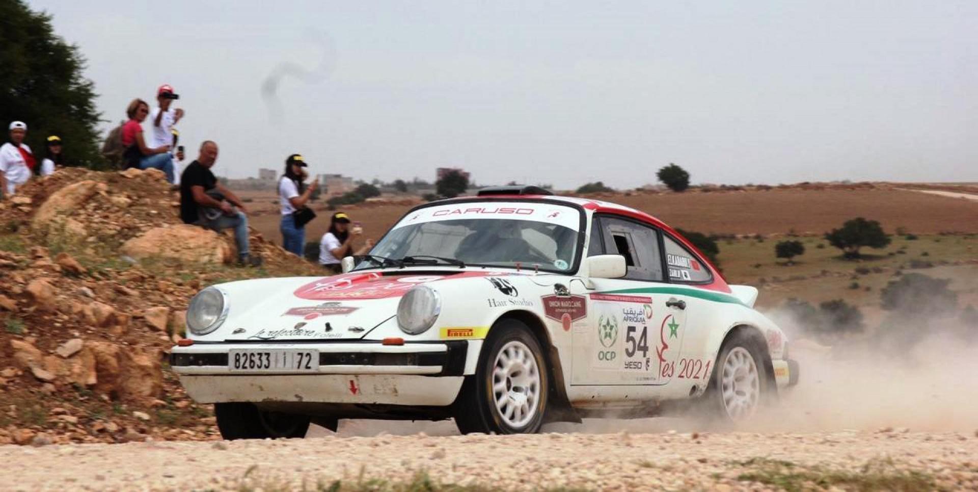 Un talentueux pilote marocain découvert grâce au Maroc Historic Rally
