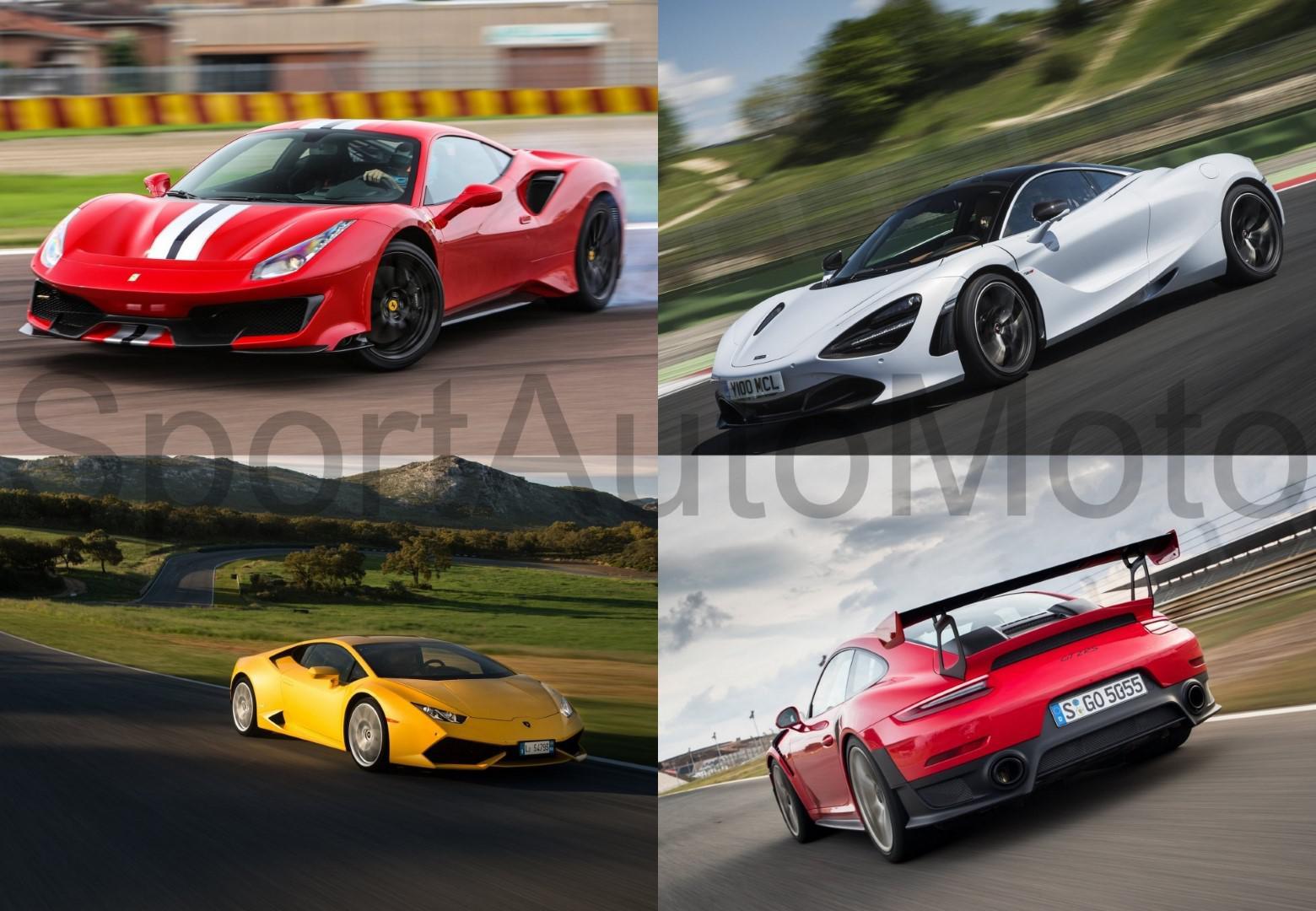 Top 10 des voitures classées par leur:  ratio poids –  puissance.