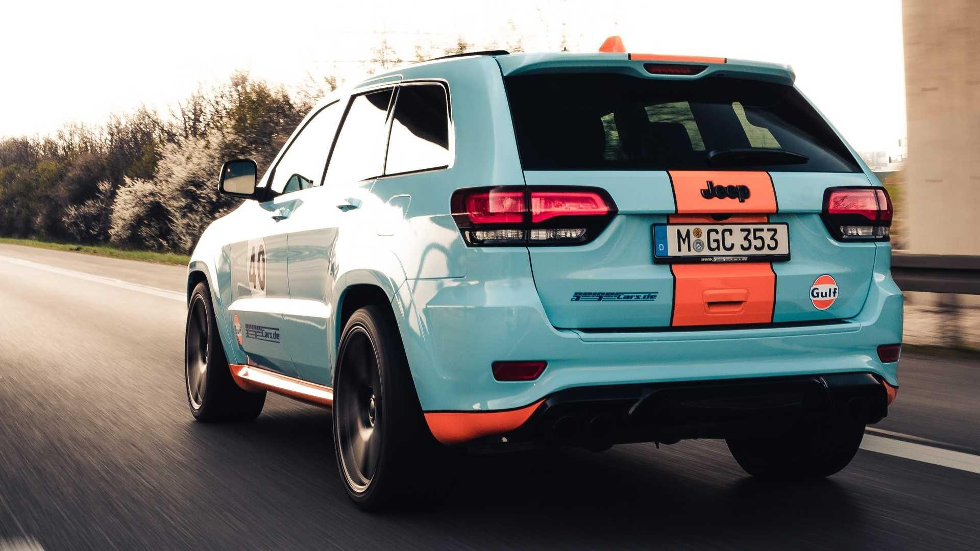 Jeep Grand Cherokee Trackhawk GULF à 900 chevaux by GeigerCars