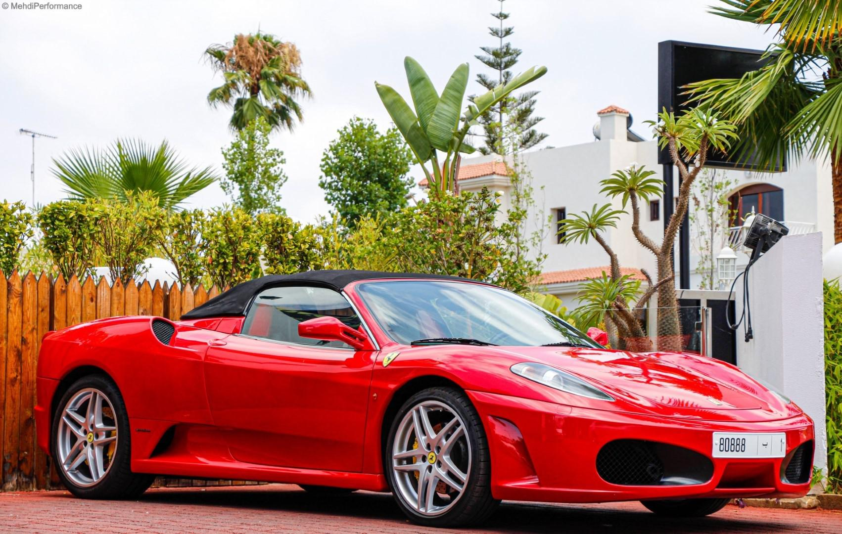 Rencontre d'une Ferrari F430 Spider