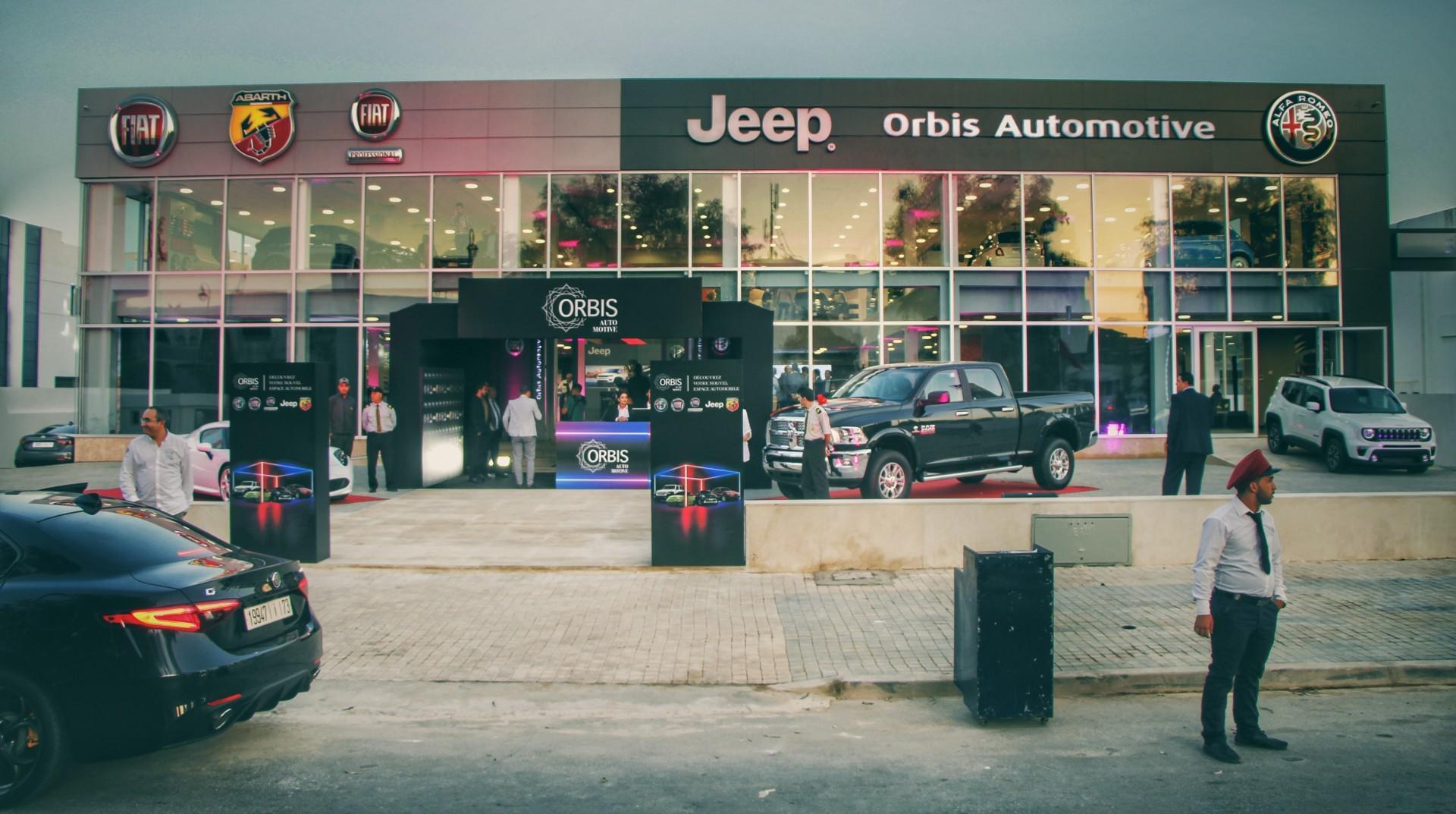 Orbis Automotive inaugure son nouveau showroom à Rabat
