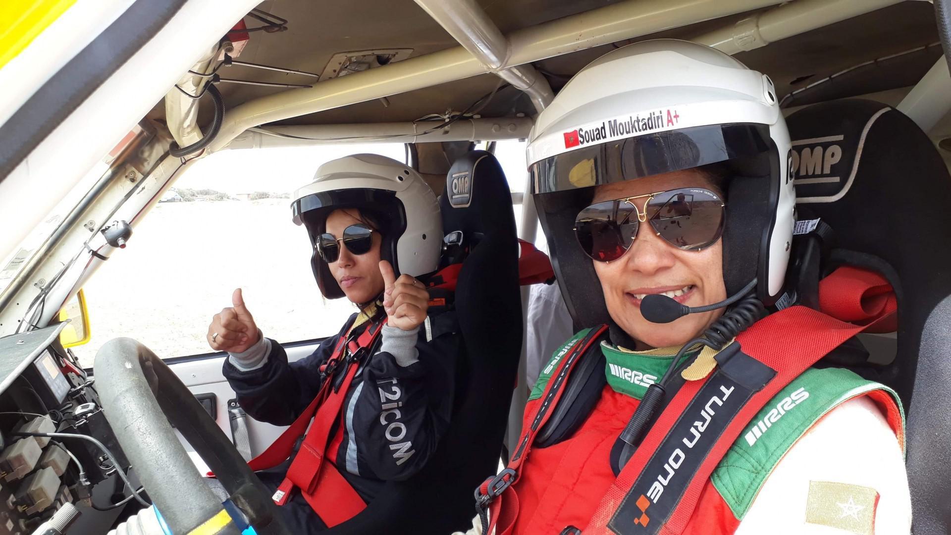 Rallye du Maroc 2019 : Souad Mouktadiri affronte pour la deuxième fois le désert marocain