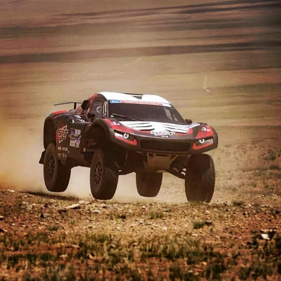 Rallye du Maroc 2019 : Serradori rally team affronte une armada de Toyota et Mini (usine).