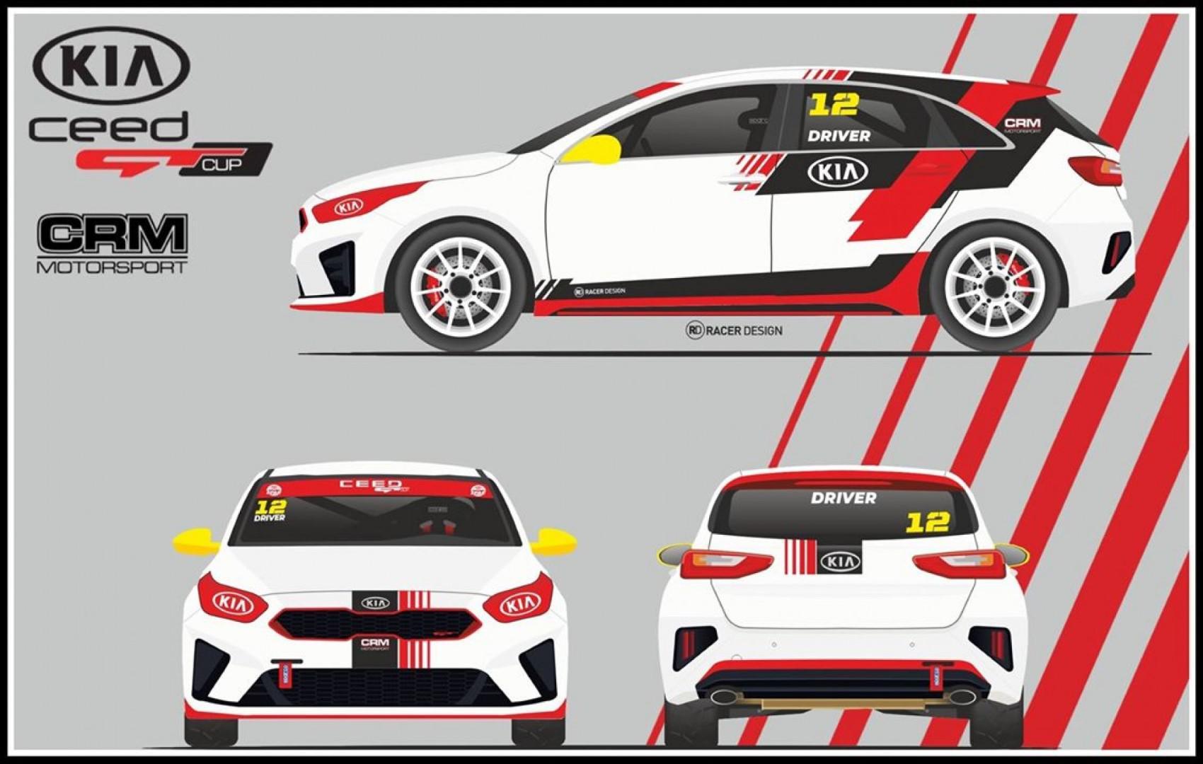 Le Portugal lance la Kia Ceed GT Cup en 2020 !