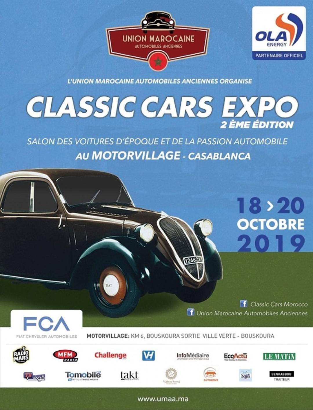 2ème édition du «Classic Car Expo»