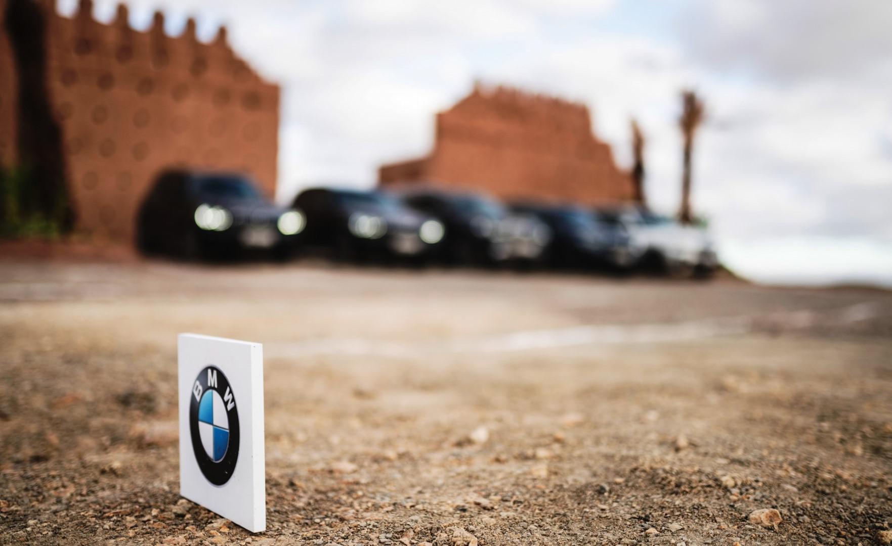 La caravane du X Drive BMW