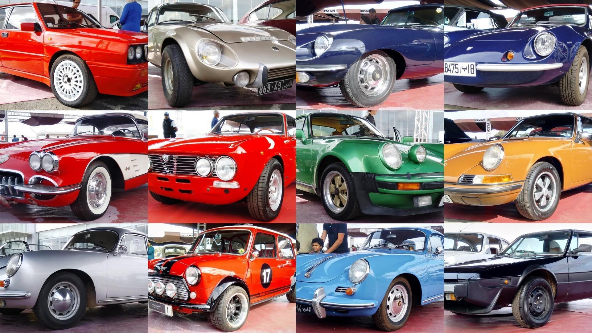 Les voitures de sports du Classic Cars Expo 2019