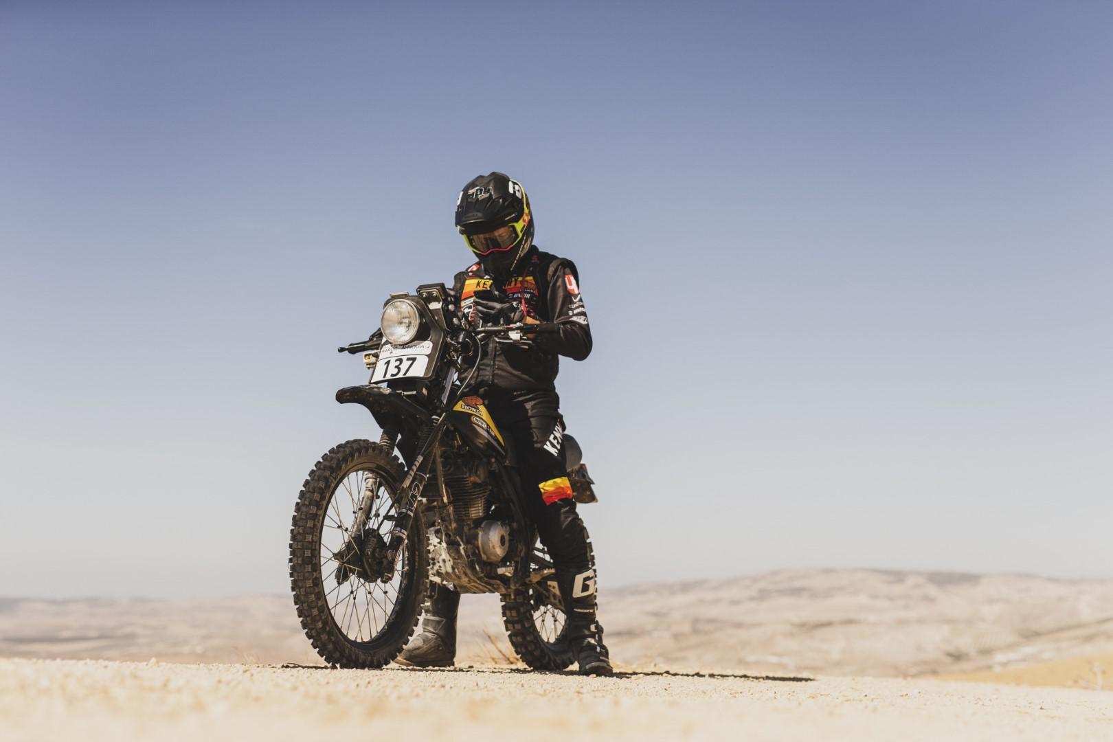Le défi d'un Rallye Raid en 125cc de 40 ans