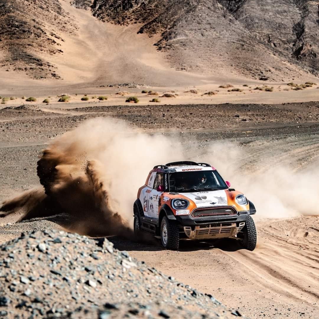 ياسر بن سعيدان يفوز بالمرحلة الأولى و يتصدر رالي العُلا نيوم