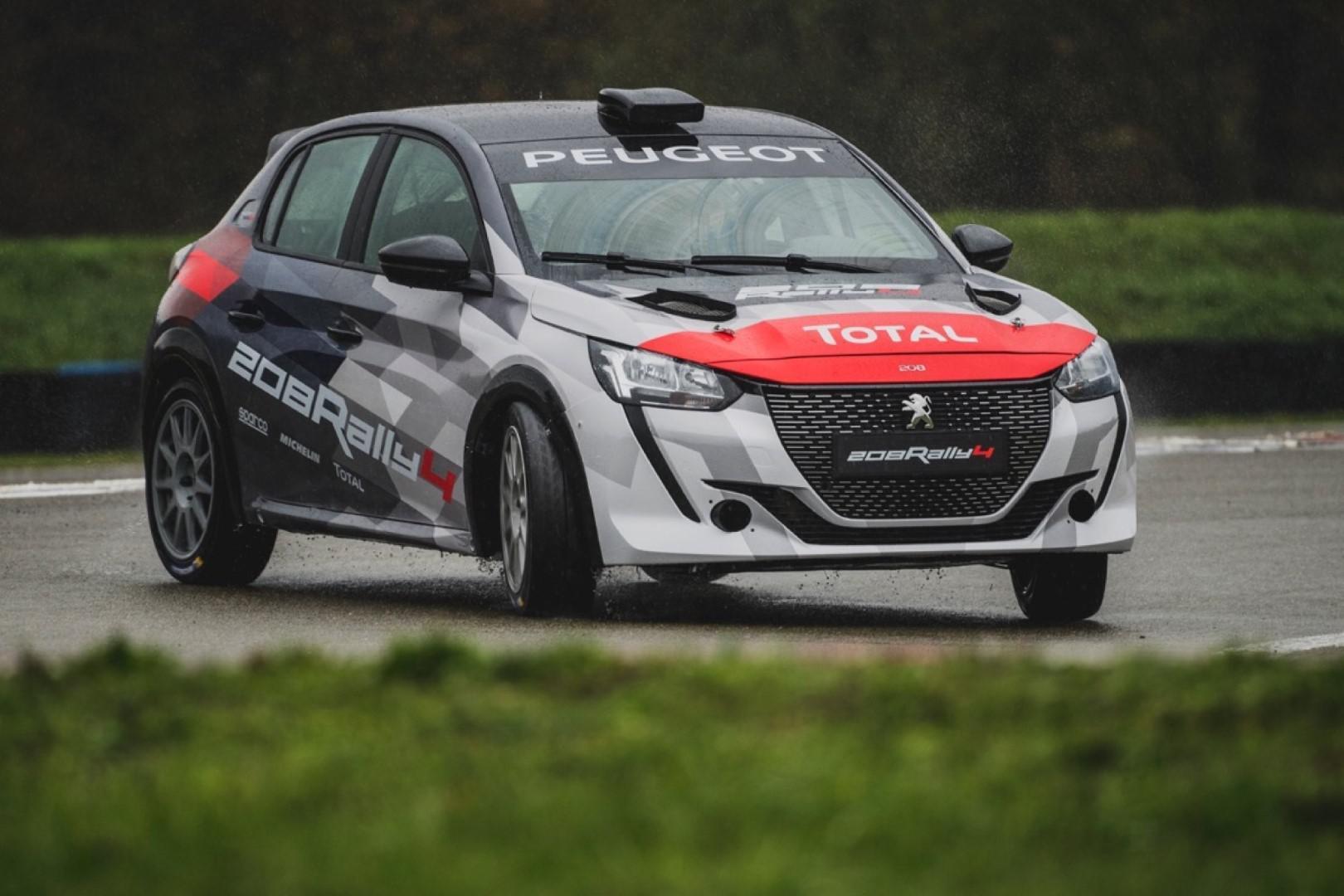 Peugeot Sport présente officiellement la 208 Rally 4