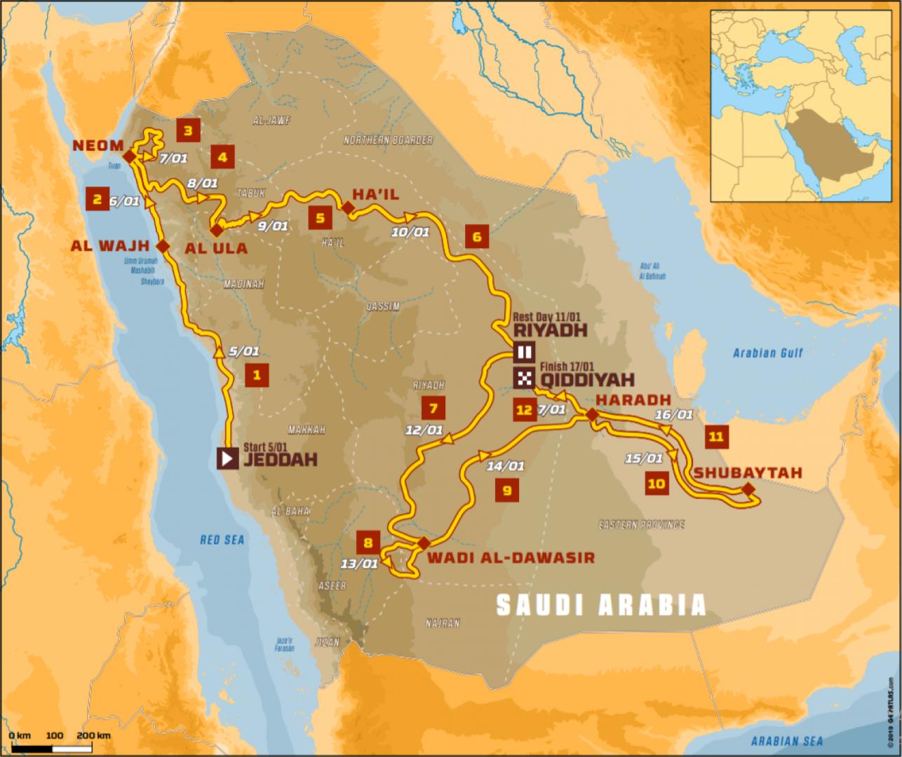 Dakar 2020 CHAPITRE III : AU ROYAUME DES SABLES