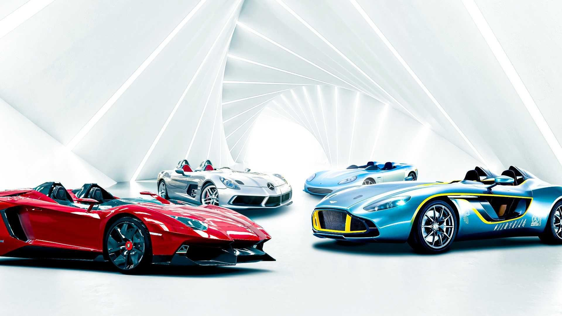 Mode: Supercarssans pare-brise, speedsters et barchettes !