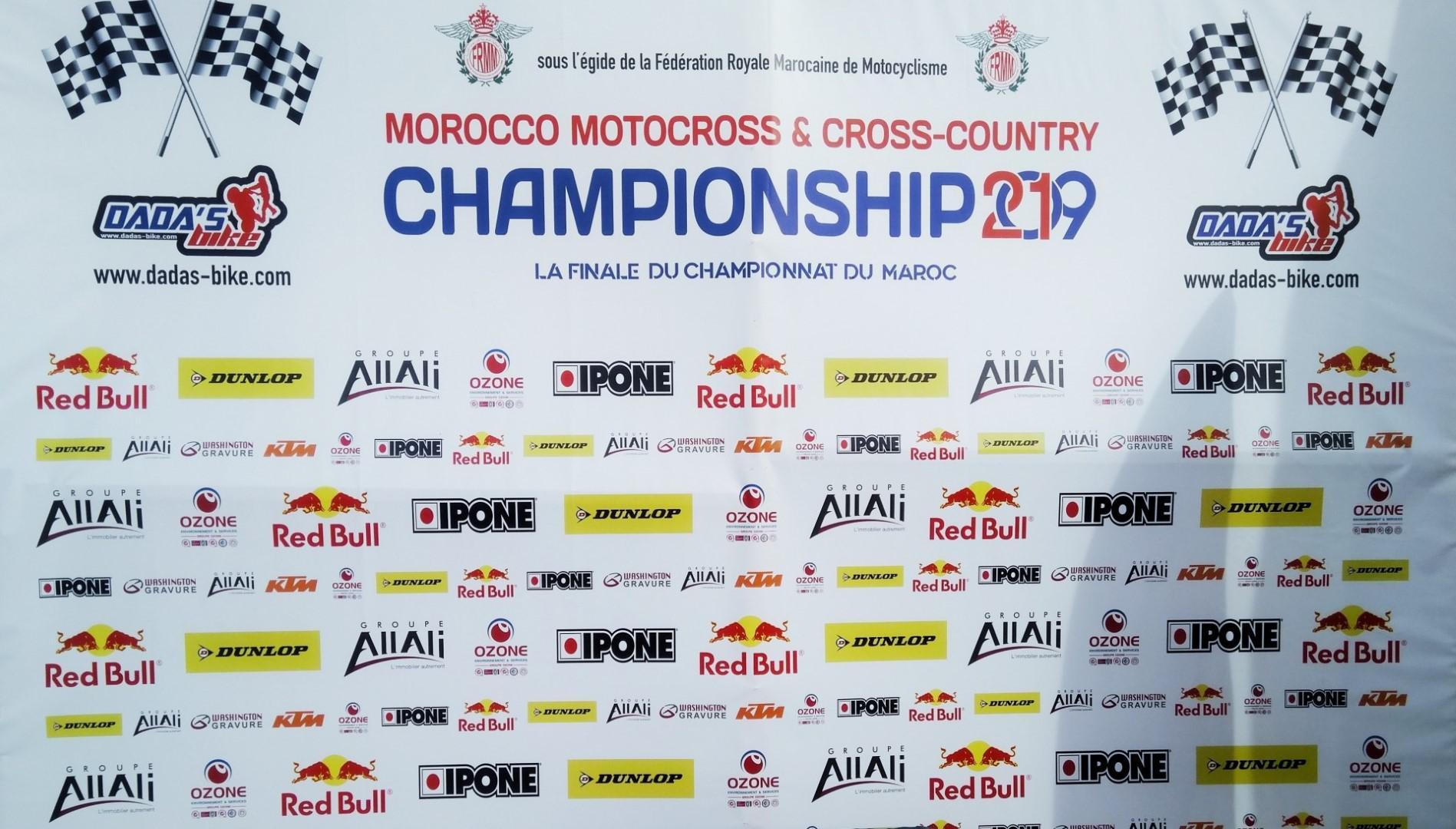 Finale du championnat du Maroc de Motocross et Cross-Country