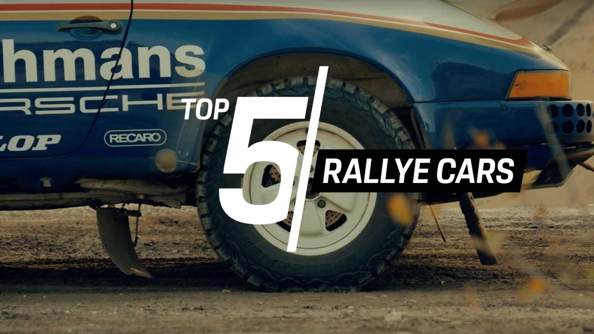 Porsche Top 5: Quelques-unes des machines qui ont marqué l'historie de la marque en Rally