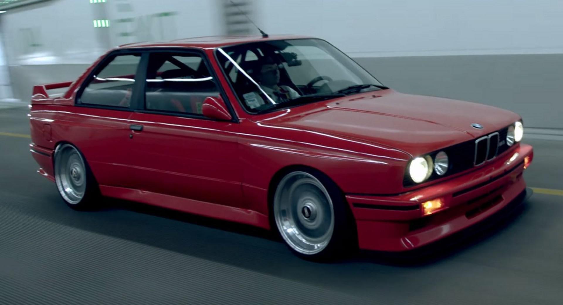 Court-métrage avec une légende de l'automobile: BMW M3 (E30)