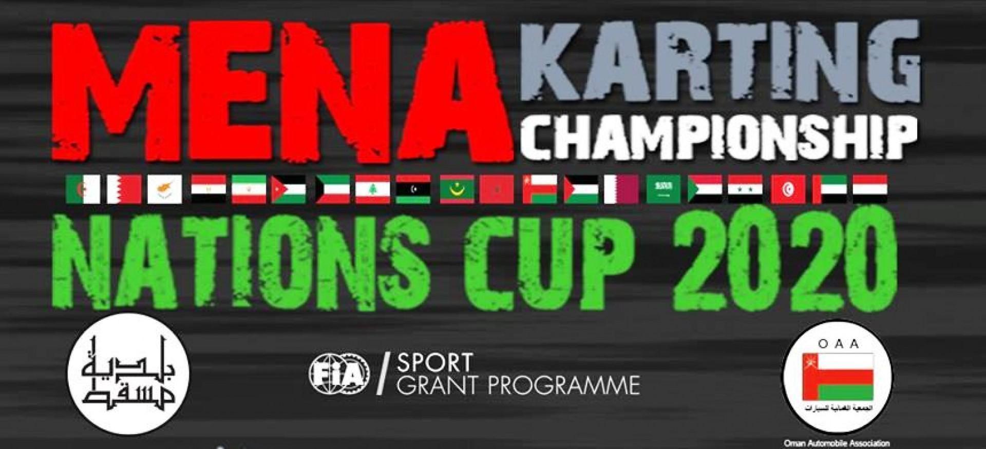MENA Karting Nations Cup: Cinq marocains au départ