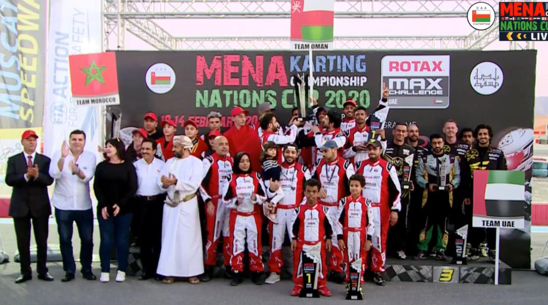 MENA Karting Nations Cup : Le Maroc Deuxième