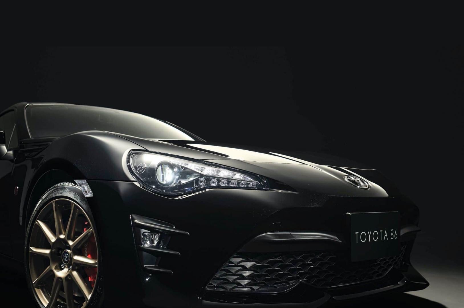Série limitée: Toyota GT86 Black Limited