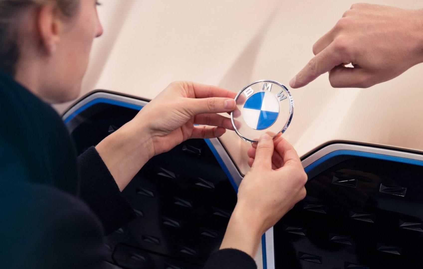 BMW s'offre un tout nouveau logo ?