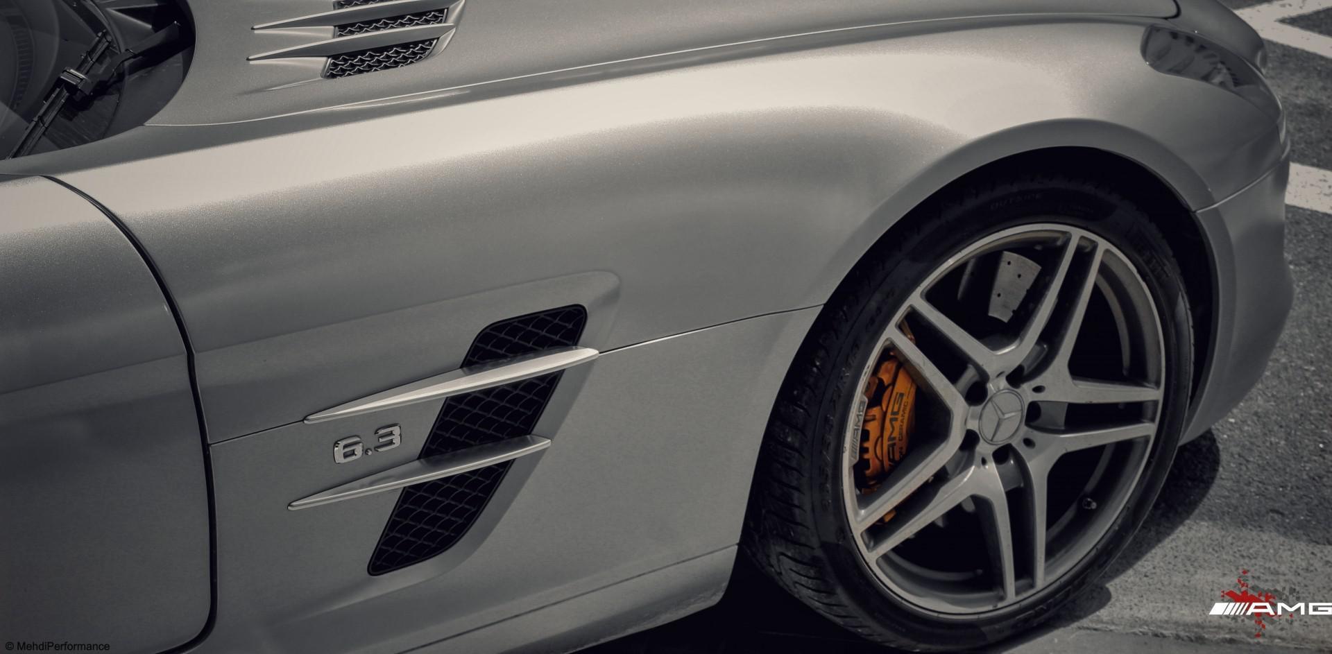 Découvrez avec nous la Mercedes SLS AMG