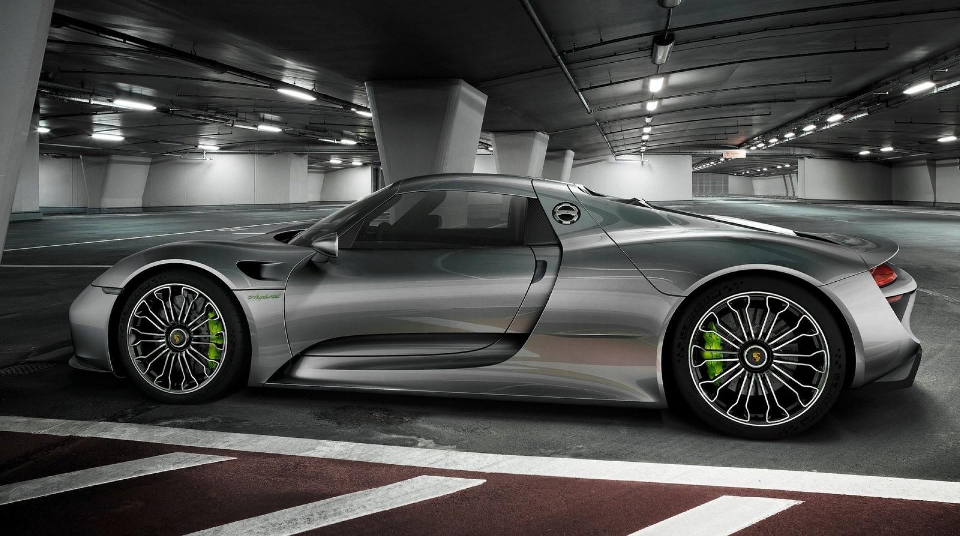 La Porsche 918 Spyder Concept a 10ans