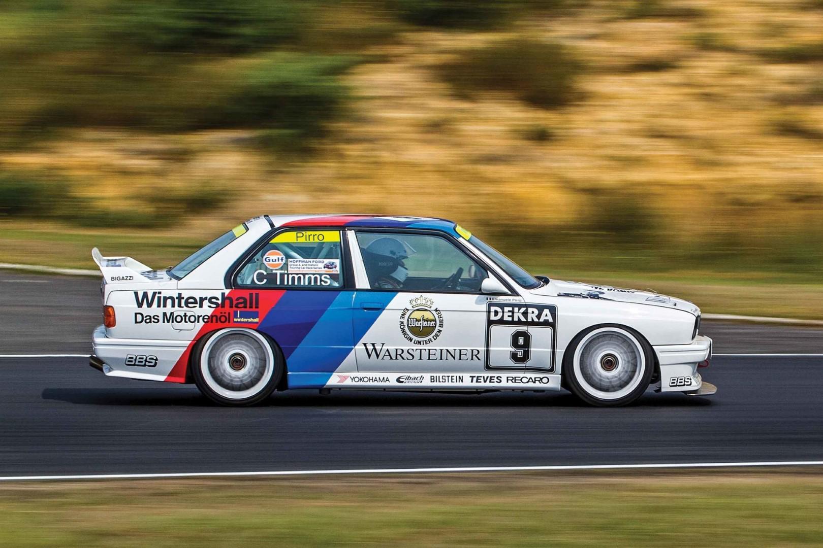 BMW M3 e30: une machine taillée pour battre les chronos!!