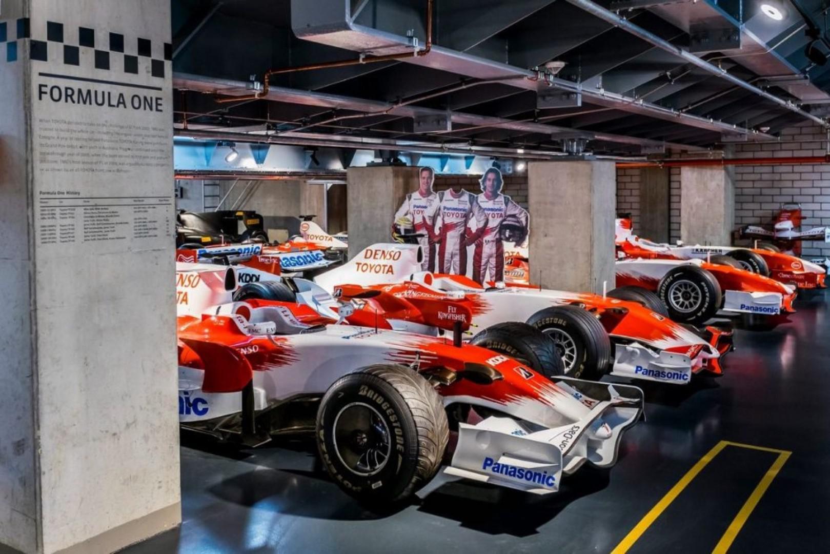 Visite virtuelle à 360°Toyota Motorsport Museum