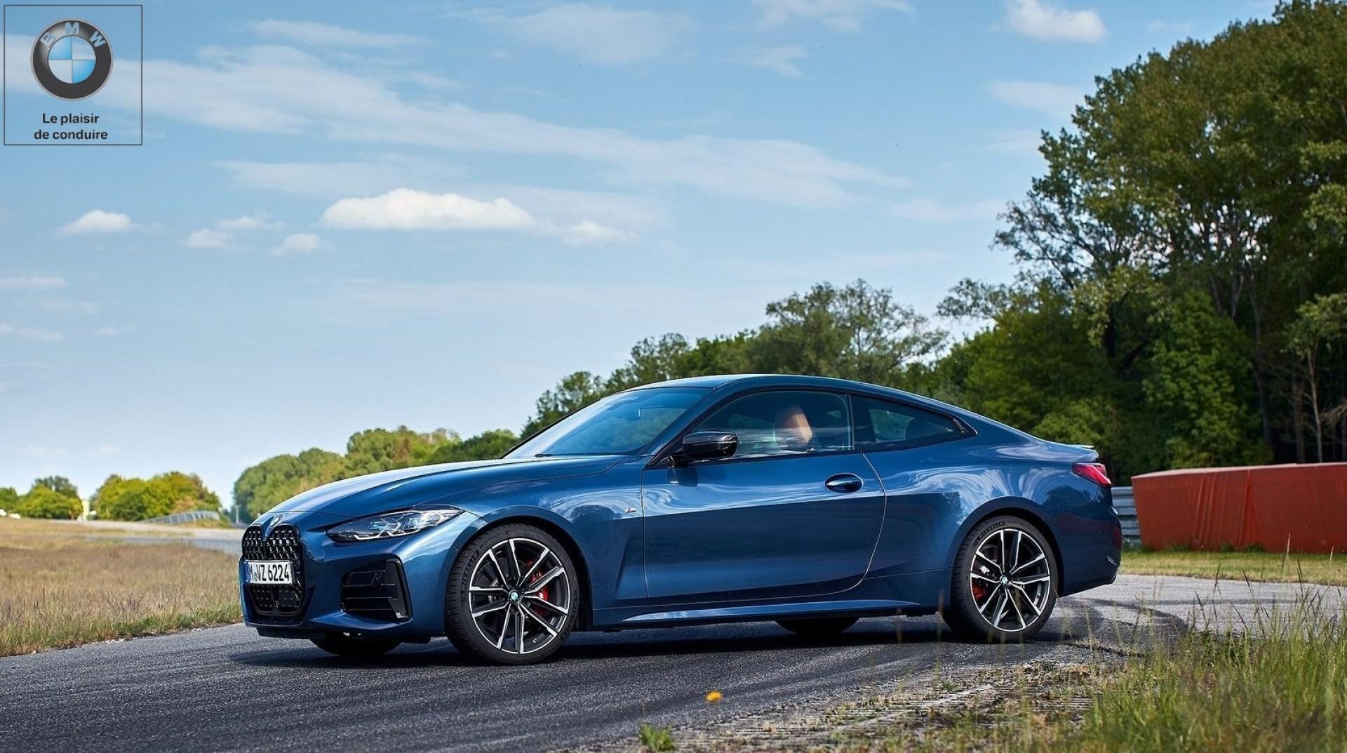 BMW a levé le voile sur la nouvelle Série 4 Coupé
