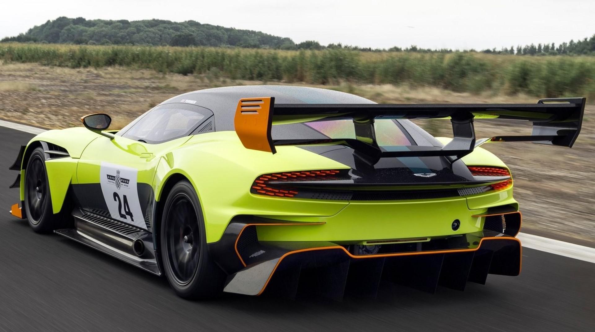 La voiture de piste la plus extrême au monde: Aston Martin Vulcan AMR Pro