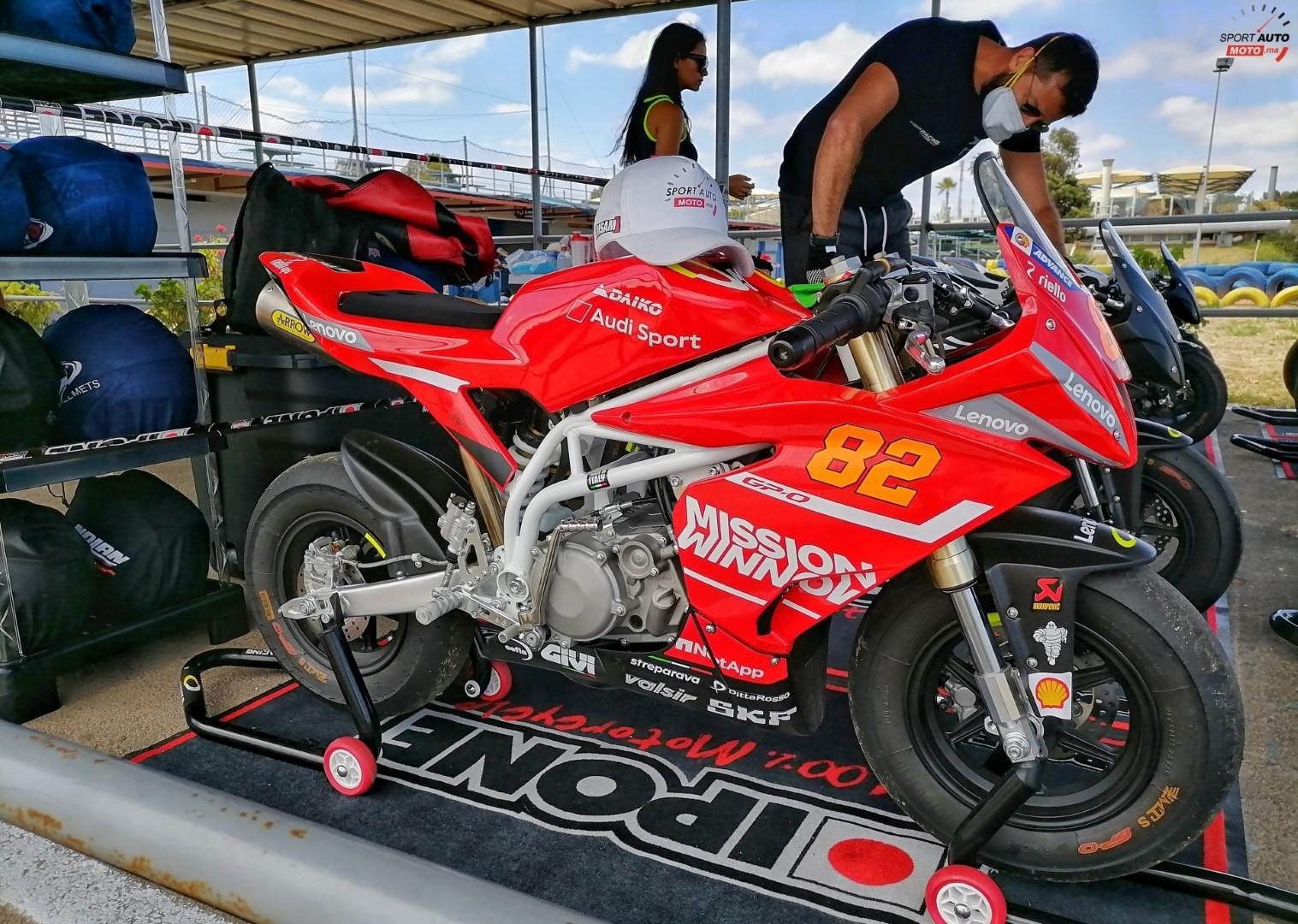 La marque de motos de compétition Ohvale officiellement au Maroc
