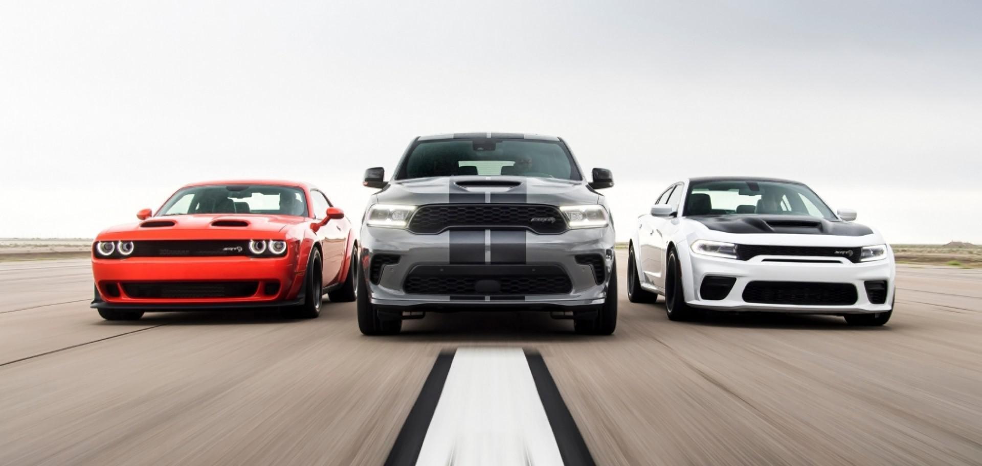 Dodge SRT: 3 nouveaux modèles de très hautes performances !