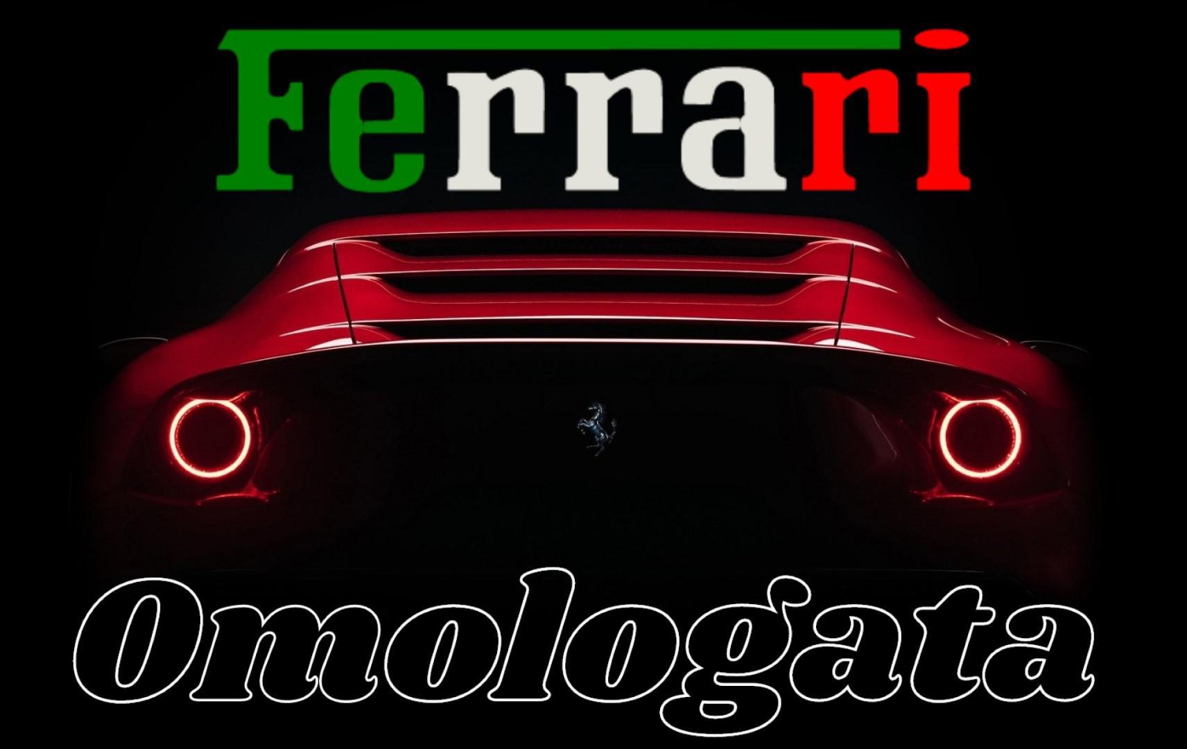 Maranello a dévoilé une version unique: Ferrari Omologata