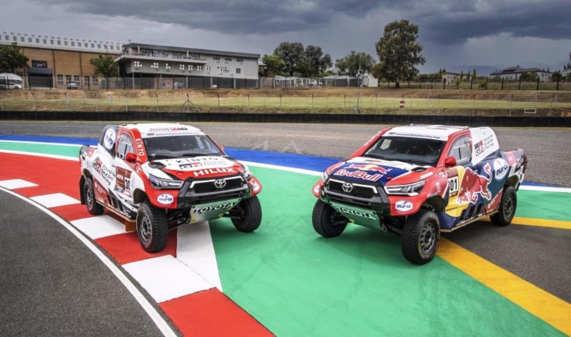 Dakar 2021: Toyota Gazoo Racing engagera quatre nouveaux Hilux