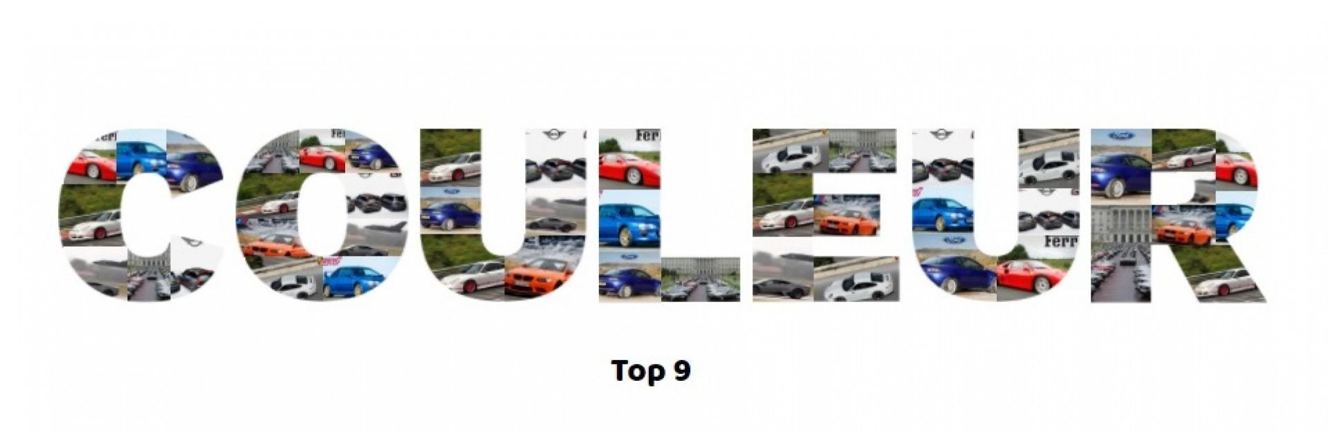 Les voitures vendues en une seule couleur ?