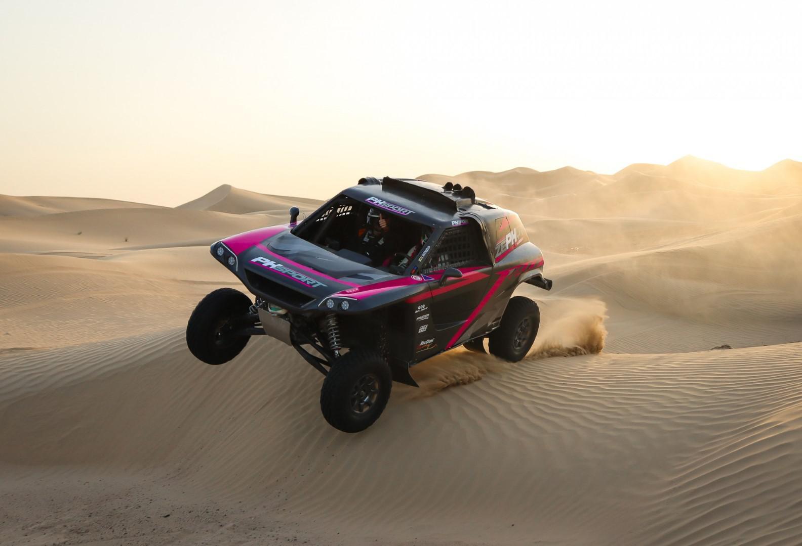Dakar 2021: Kris Meeke au volant de Zephyr PH Sport