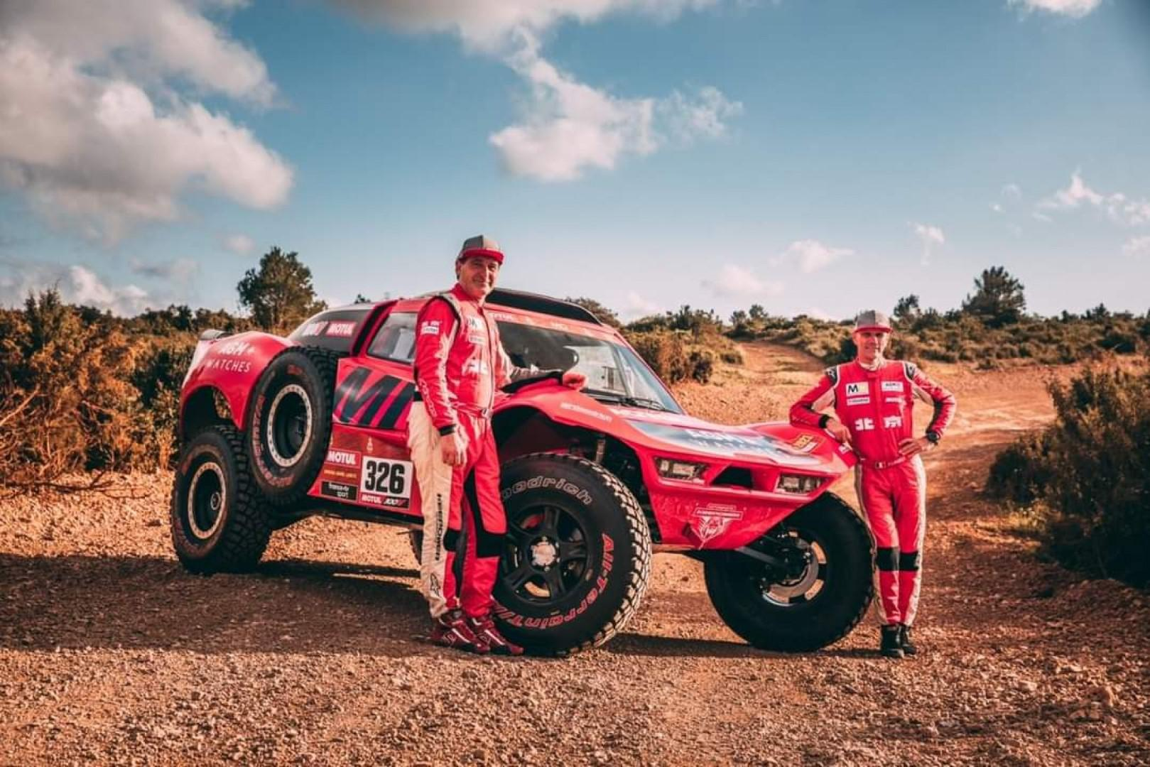 DAKAR 2021 : Christian Lavieille et Jean-Pierre Garcin chez MD Rallye