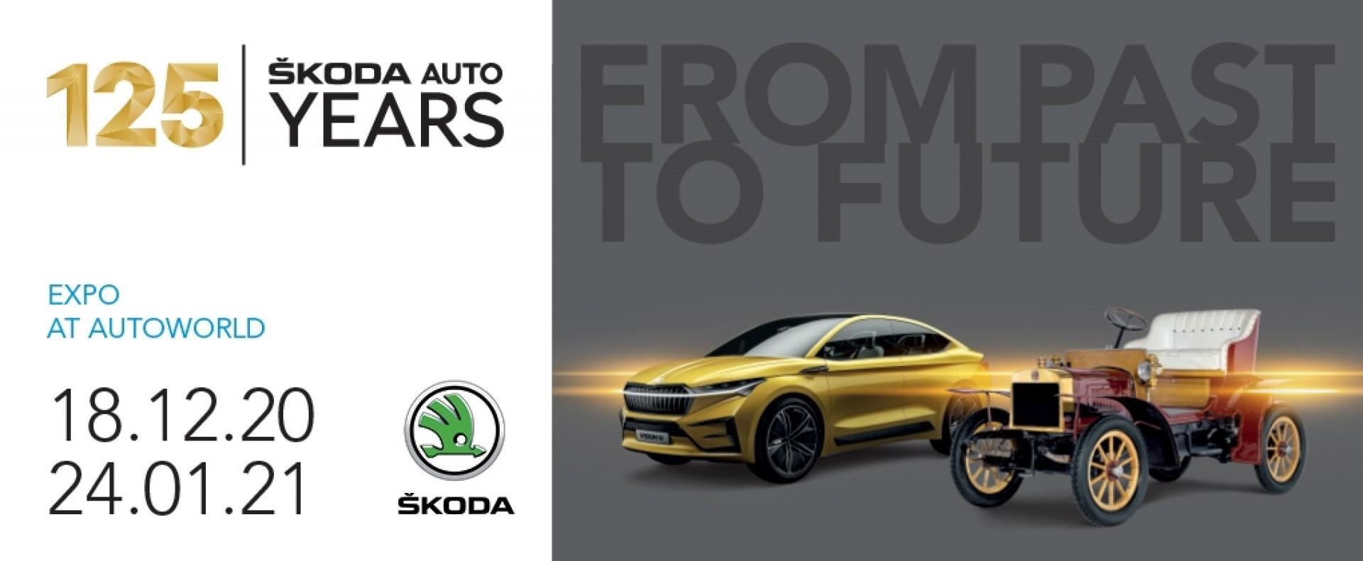 Autoworld Museum Brussels: ŠKODA – 125 YEARS  From past to future