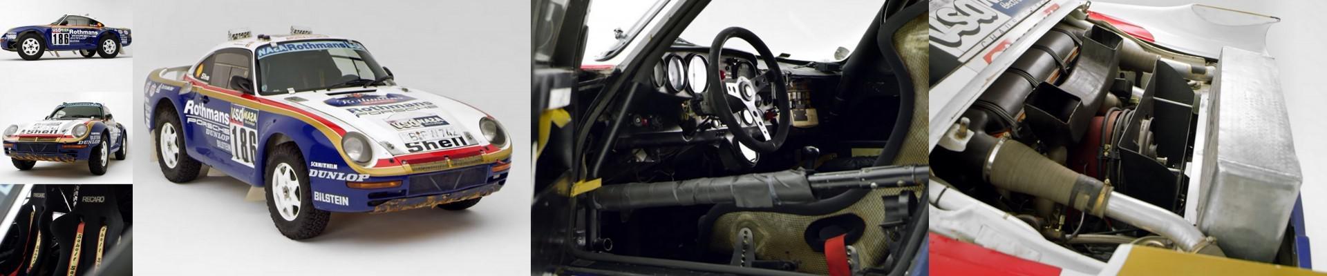 Redécouvrez la Porsche 959 Paris-Dakar