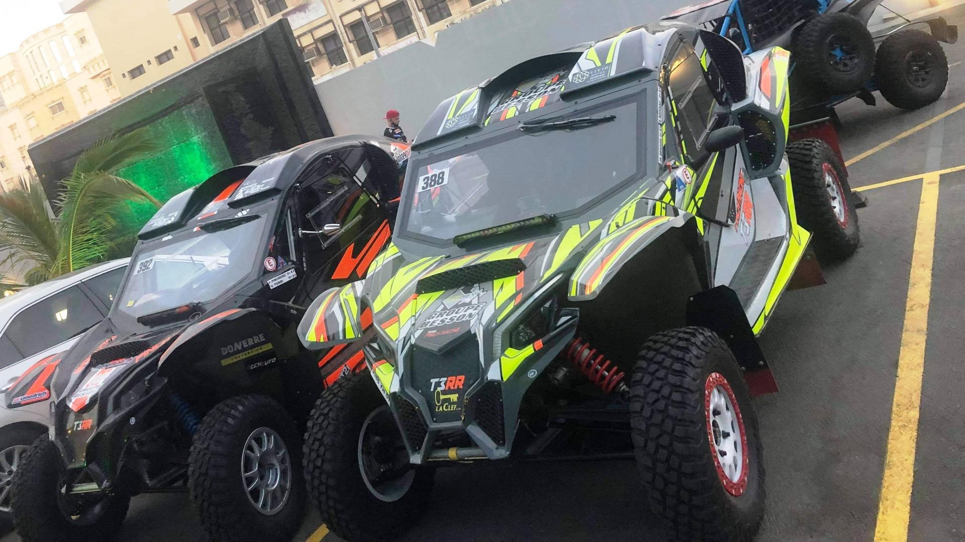 Dakar : Le Team Pinch Racing s'active enfin !