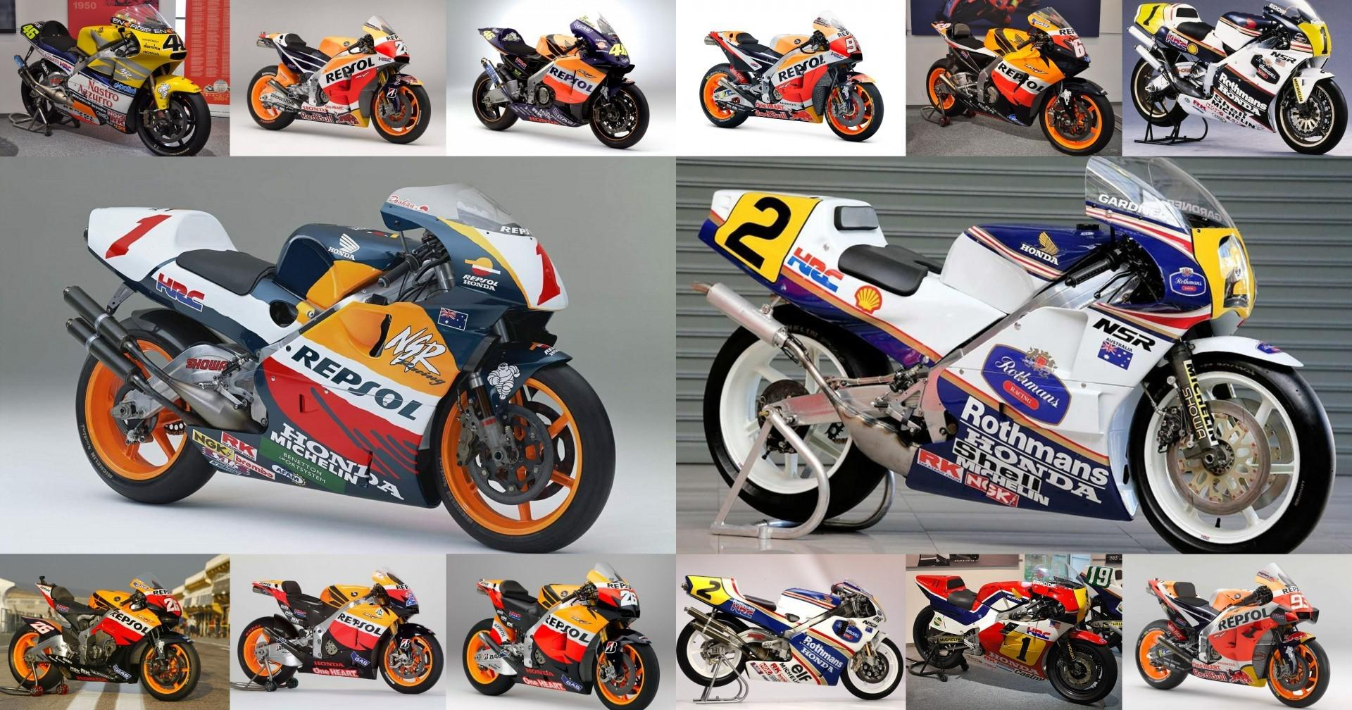 Moto GP Honda: Evolution de la puissance